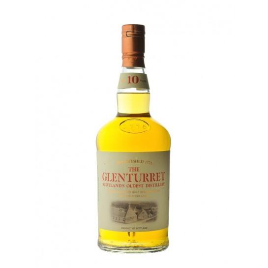 WHISKY 10 ANS GLENTURRET