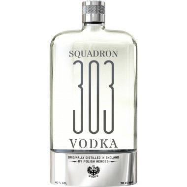 VODKA SQUADRON 303 FLASQUE ORIGINALE