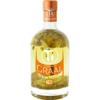 RHUM ARRANGES GRAAL CITRON PASSION TI RHUMS DE CED'